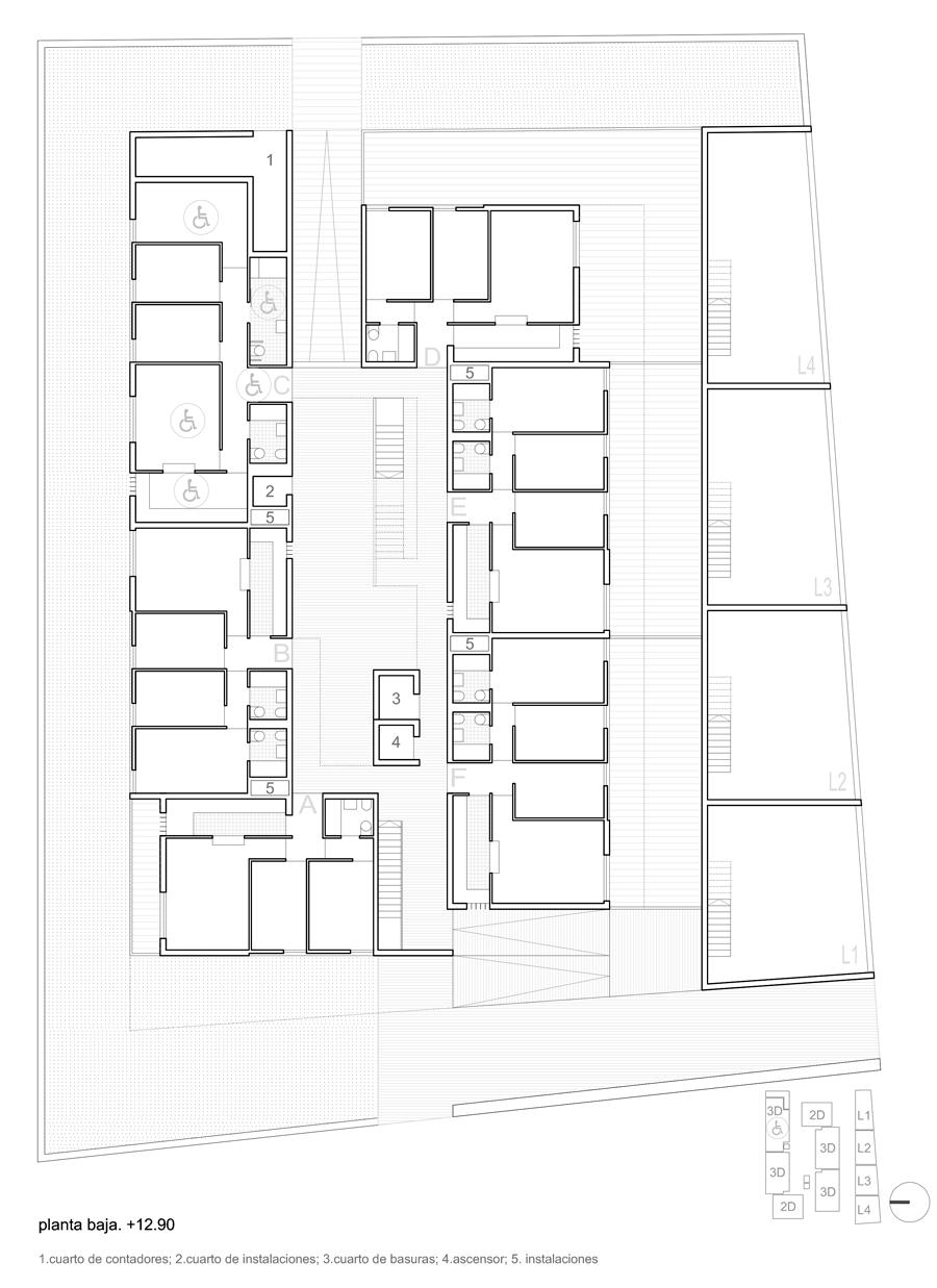 24 viviendas vpo en guadaira sur. sevilla
