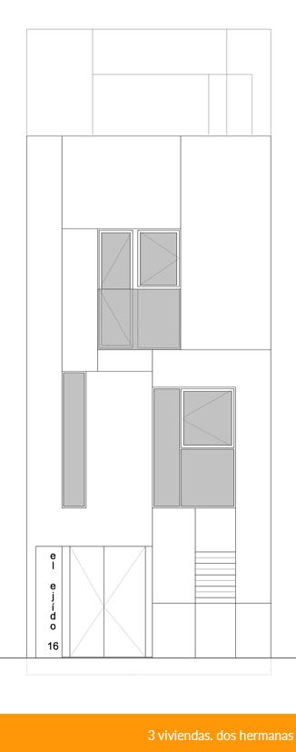 3 viviendas en dos hermanas