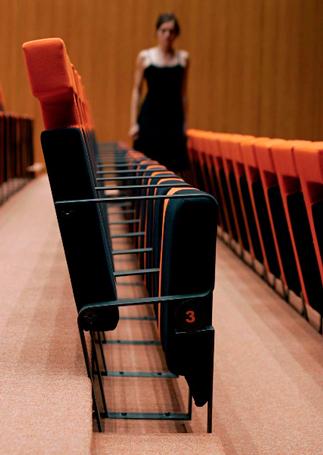 butaca maripuri. teatro de la palma del condado. huelva