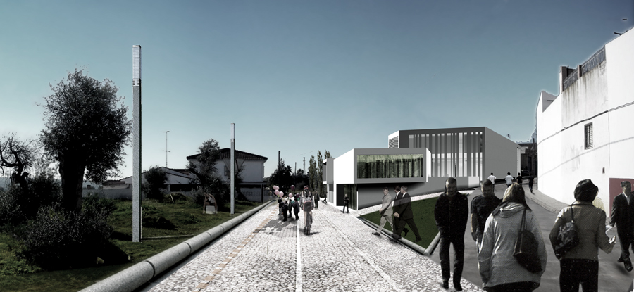 edificio de la seguridad social en sanlúcar
