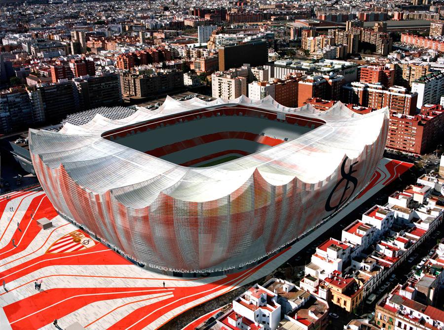 ampliación estadio Sevilla FC
