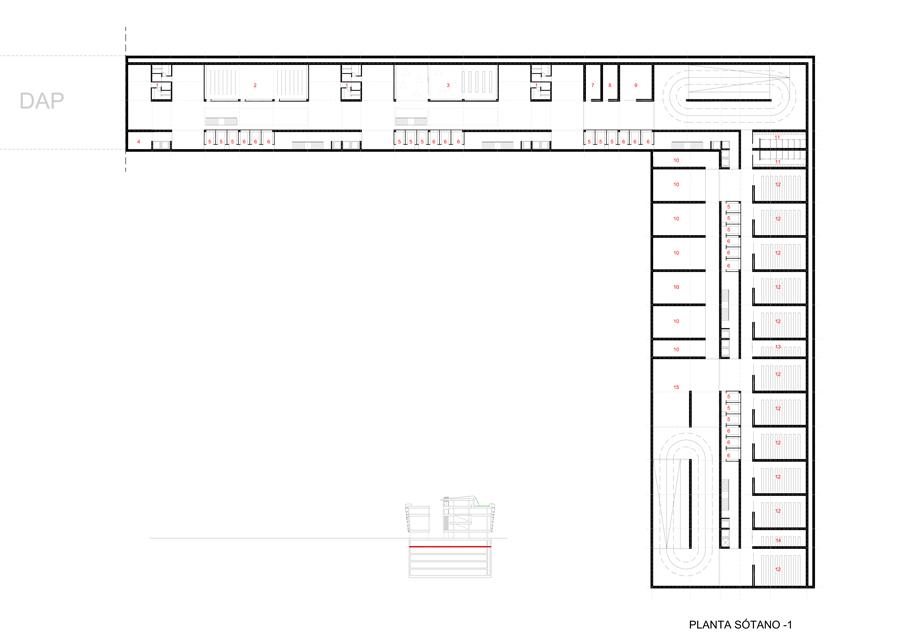 edificio de oficinas en la avenida de grecia. sevilla