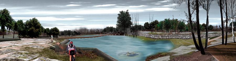 parque de san ildefonso. sevilla