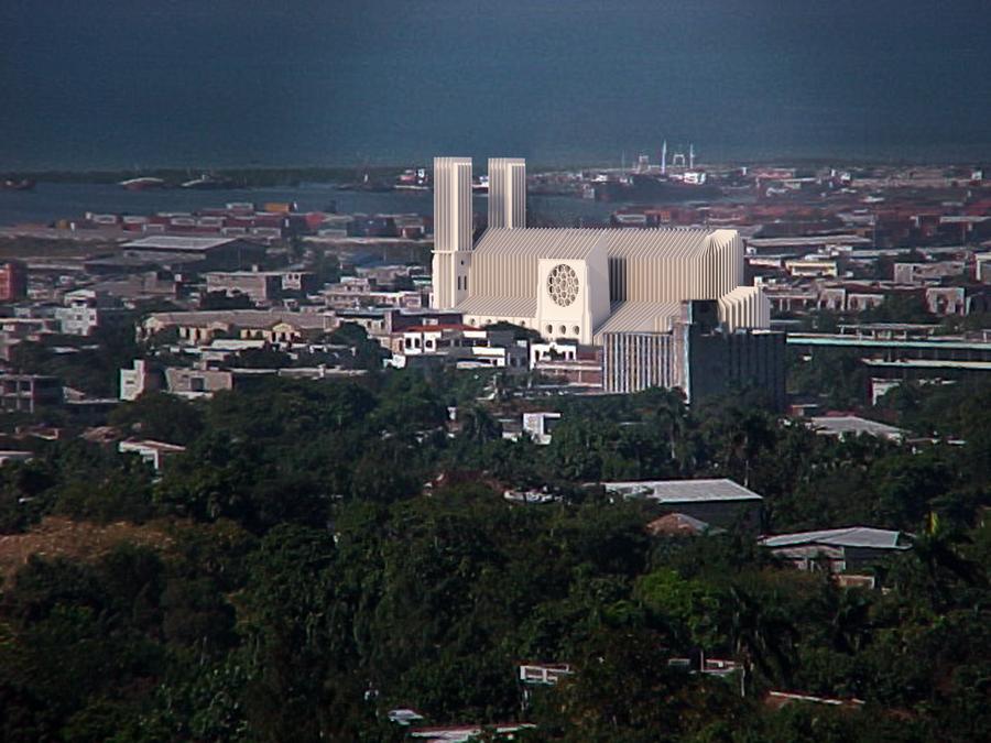 new cathedral por au prince, haiti