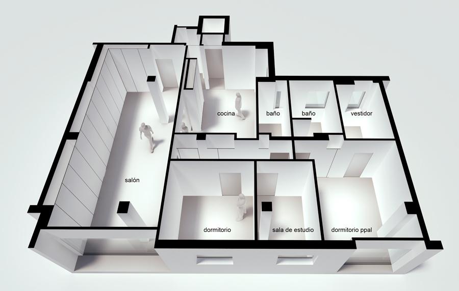 reforma de vivienda en sevilla. plaza de armas